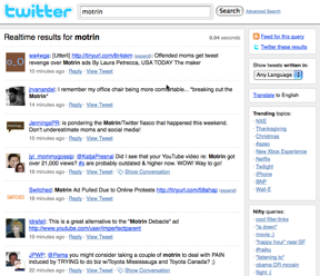 Search Twitter for your brand