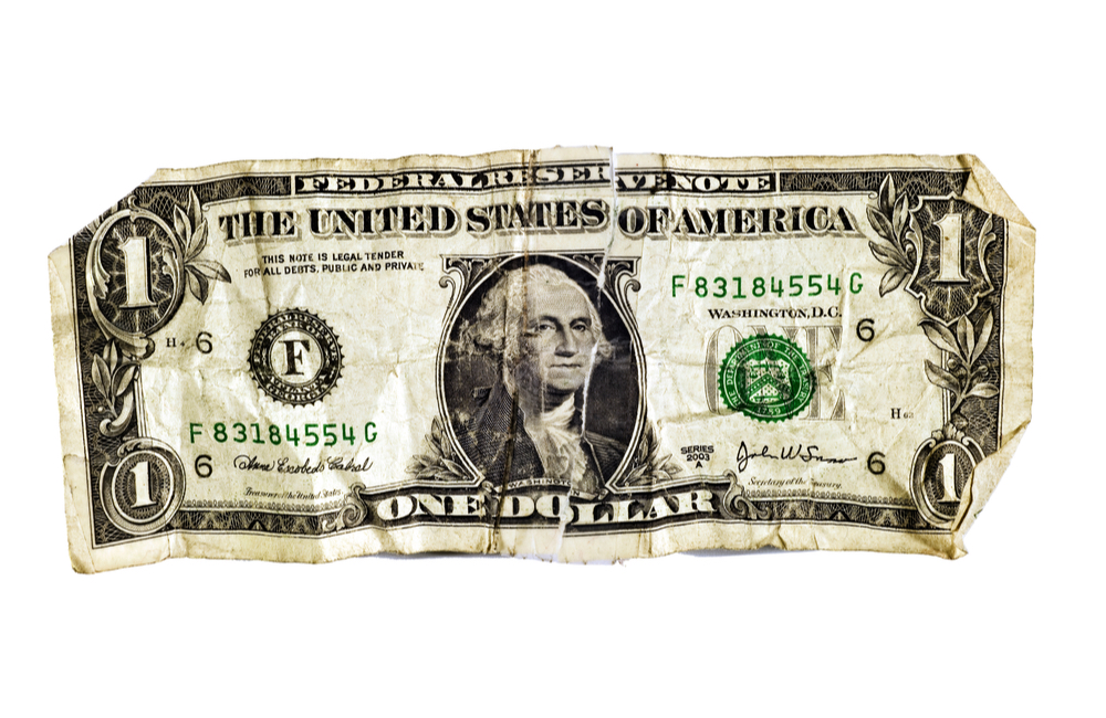 The Race You Can't Win: Battered Dollar Bill