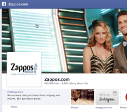 Can Facebook deliver sales? Zappos says yes