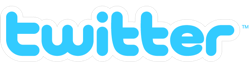 Twitter logo outline